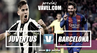 Previa Juventus FC - FC Barcelona: el retorno a Turín