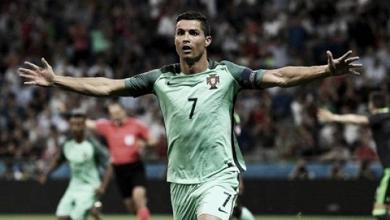 Cristiano, líder también con Portugal
