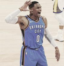 Oklahoma City derrota a los Warriors