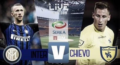 Inter - Chievo in diretta, LIVE Serie A 2017/18 - Perisic(3), Icardi, Skriniar! (5-0)