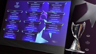 UWCL: Qualifying round draw