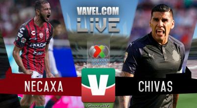 Resultado y goles del Necaxa 1-3 Chivas de la Liga MX 2018