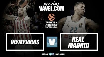 Previa Olympiacos Piraeus - Real Madrid: a derribar El Pireo