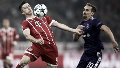Anderlecht vs Bayern Múnich en vivo y en directo online en UEFA Champions League 2017-18