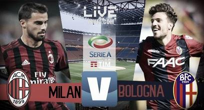 Risultato finale Milan - Bologna in diretta, Serie A 2017/18 LIVE (2-1): Doppietta di Bonaventura!