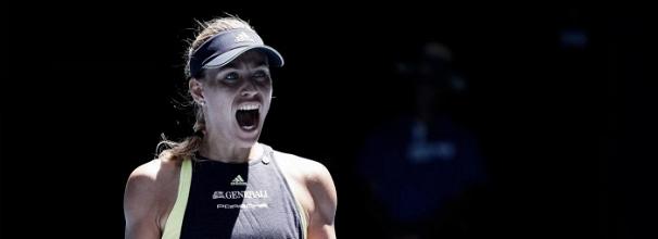 Kerber interrompe bom momento de Hsieh e a elimina de virada nas oitavas do Australian Open