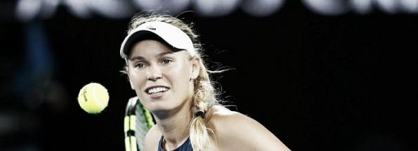 Wozniacki derrota Mertens e está na grande decisão do Australian Open