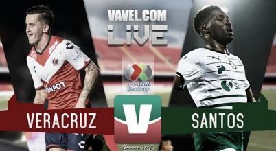 Djaniny anota y Santos rescata el empate ante Veracruz