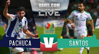Resultado y goles del Santos vs Pachuca Jornada 15