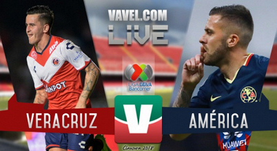 Resltado y goles del partido Veracruz vs América en Liga MX 2018 (1-1)