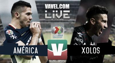 Partido América vs Xolos Tijuana en Liga MX 2018 (0-0)