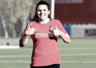 Atlético Femenino: Andrea Pereira recibe el alta médica