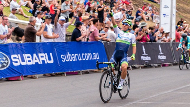 Tour Down Under: Ewan sorprende a Stirling