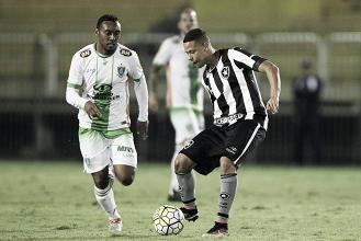 América-MG busca manter invencibilidade em casa e Botafogo luta pela primeira vitória
