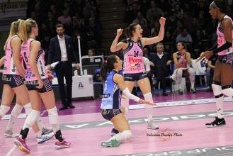 Volley, Serie A1 femminile, 8^ giornata di ritorno: Conegliano si conferma, vittorie preziose per Bergamo e Casalmaggiore