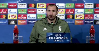 Champions League - La Juventus attende il Tottenham: le parole di Chiellini