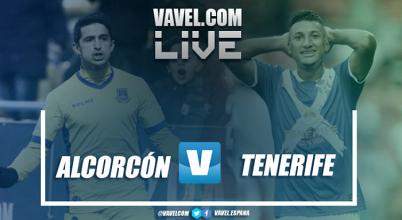 Resumen del AD Alcorcón vs CD Tenerife en LaLiga123 en 2018 (1-1)
