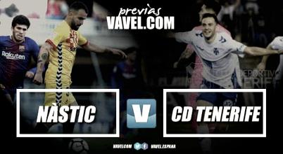 Previa Gimnàstic de Tarragona – CD Tenerife: duelo de reflejos