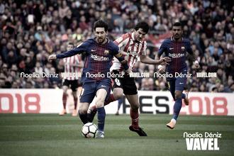 La pizarra de Valverde: al Barça le bastó con 45 minutos