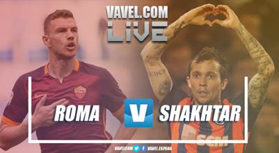 Terminata Roma - Shakhtar, LIVE Champions League 2017/18 (1-0): Decide Dzeko, giallorossi ai quarti