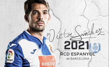 Víctor Sánchez renueva con el Espanyol hasta 2021