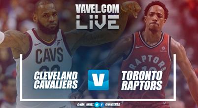 Partido Cleveland Cavaliers vs Toronto Raptors en vivo y en directo online en NBA 2018