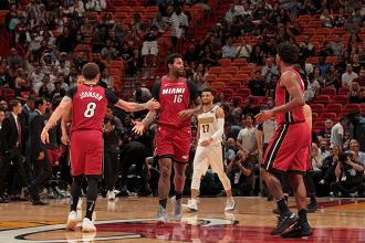 NBA - James trascina ancora i Cavaliers, Miami vince la maratona con i Nuggets