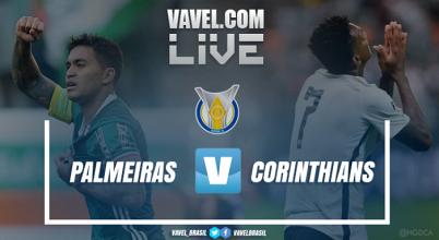 Resultado Palmeiras x CorinthiansCampeonato Brasileiro 2017 (0-2)
