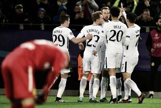 Kane y Son conquistan Dortmund y el liderato del Grupo H