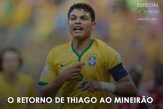 Marcado pelo choro na Copa, Thiago Silva retorna ao Mineirão a seleção brasileira