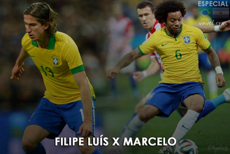 Marcelo x Filipe Luís: disputa pela lateral-esquerda é dor de cabeça positiva de Tite