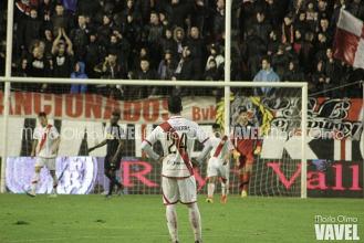 Primera derrota del Rayo Vallecano en casa
