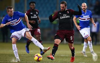 Coppa Italia - Cutrone entra e fa doppietta: il Milan batte la Sampdoria 0-2 ai supplementari
