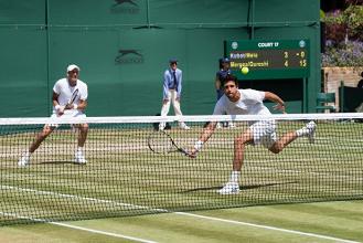 Melo/Kubot x Marach/Pavic pela final de Wimbledon (3-2)