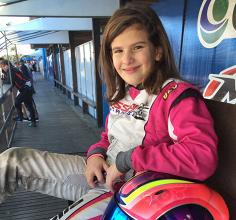 Antonella Bassani vai em busca de título no Campeonato Brasileiro de Kart