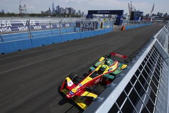 Lucas di Grassi diminui distancia para Sébastien Buemi pela Fórmula E em Nova York