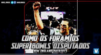 Super Bowl LI: participação do New England Patriots em finais da NFL