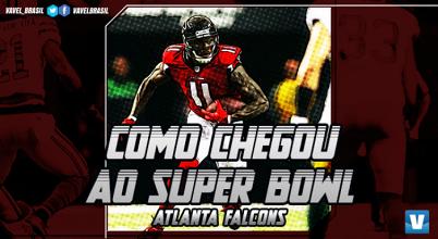 Super Bowl LI: caminho do Atlanta Falcons à final da NFL