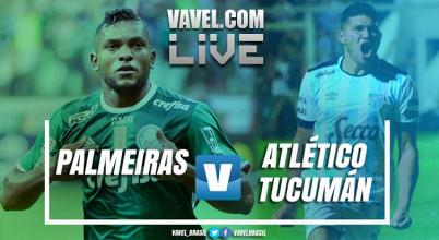Resultado Palmeiras x Atlético Tucumán na Copa Libertadores 2017 (3-1)