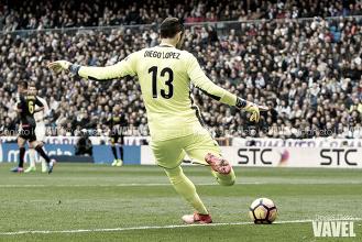 """Diego López: """"Enfrente tenemos un gran equipo que se está jugando muchísimo"""""""