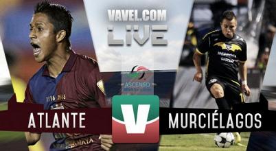 Resultado y goles del Atlante 0-1 Murciélagos del Ascenso MX 2017