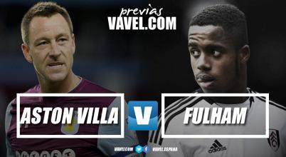 Previa Aston Villa-Fulham: la Premier League espera