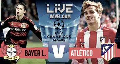 Resumen Bayer Leverkusen 2-4 Atlético de Madrid en Champions League 2017