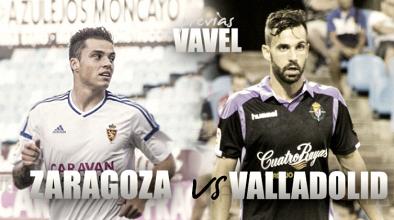 Previa Real Zaragoza - Real Valladolid: duelo de históricos