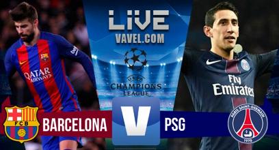 Resultado y goles Barcelona 6-1 PSG en Champions League 2017