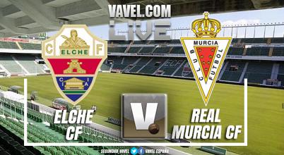 Elche - Real Murcia en directo online y en vivo en playoff ascenso Segunda B
