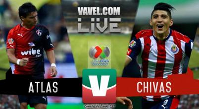 Resultado y gol del Atlas 1-0 Chivas de la Liguilla MX 2017