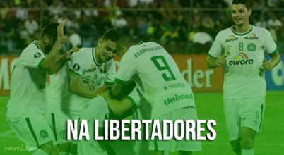Na Libertadores: paralelo à Recopa, Chape e Atlético Nacional correm atrás de vaga nas oitavas