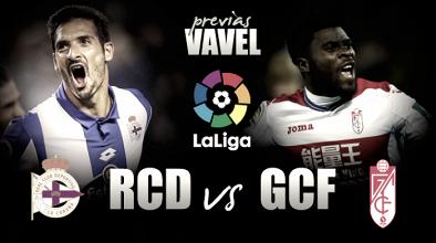 Previa Deportivo - Granada: solo vale la victoria