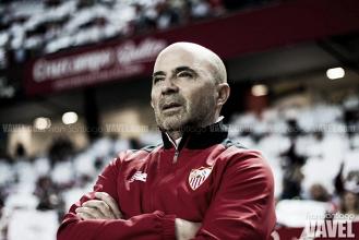 """Sampaoli: """"Si terminamos con 70 puntos y cuartos, será difícil hablar de fracaso"""""""